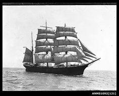 Three-masted barque WINTERHUDE