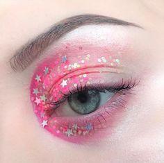 New Makeup Artist Tattoo Cosmetics Eye Shadows 42 Ideas Makeup Geek, Eye Makeup Art, Crazy Makeup, Beauty Makeup, Fairy Makeup, Mermaid Makeup, Kawaii Makeup, Cute Makeup, Pretty Makeup