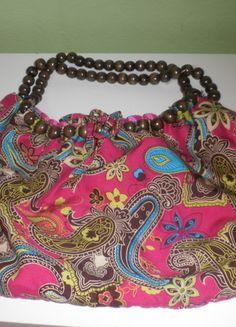 letní barevná kabelka
