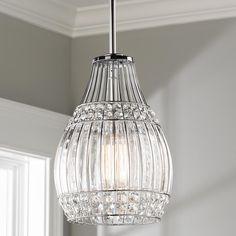 Modern pendant chandelier 15w led crystal pendant lamp three head mini crystal and metal pendant aloadofball Image collections