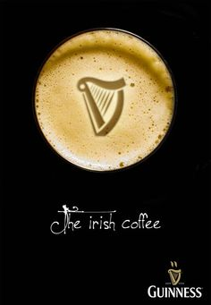 Guinness : The Irish coffee by Patrick Dufour, via Behance