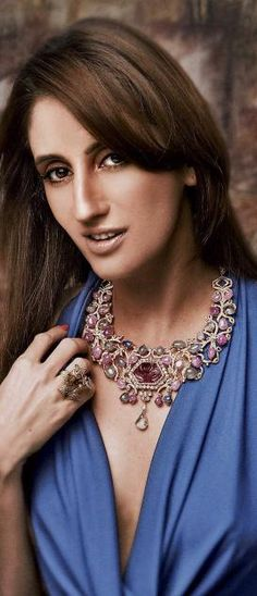 ROCK SOLID Jewellery designer Farah Khan
