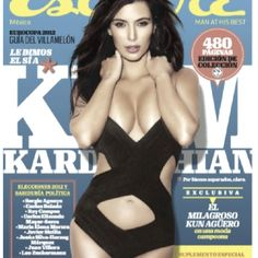 Kardashian on the cover of esquire magazine summer 2012