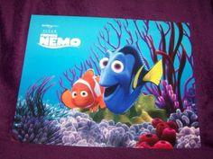 Disney Pixar Finding Nemo Exclusive Four Lithograph Set in Folder by Disney pixar. $28.95