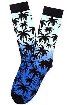 K.Bell Socks The Palm Crew in Black