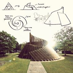 Interesting Find A Career In Architecture Ideas. Admirable Find A Career In Architecture Ideas. Parametric Architecture, Pavilion Architecture, Landscape Architecture Design, Futuristic Architecture, Ancient Architecture, Sustainable Architecture, Contemporary Architecture, Rhino Architecture, Conceptual Architecture