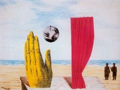 René Magritte - Collage, nd.