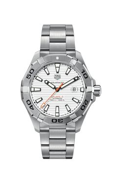 Tag Heuer, High End Watches, Cool Watches, Cheap Watches, Latest Watches, Sport Chic, Gents Watches, Brushed Stainless Steel, Luxury Watches For Men