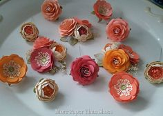 Cake Flowers- Cake Decoration - Made To Order - Custom Colors Available