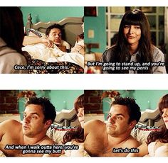 Let's do this. Nick Miller. New girl.