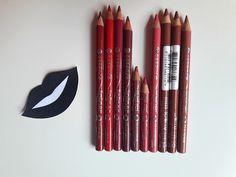 Beauty Bi: Creioane de buze   Swatch   Review