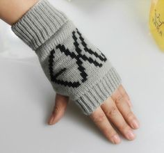 EXO KPOP GRAY GLOVES GLOVE