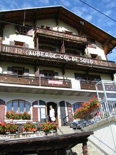 Auberge du Col de Soud www.villars.ch Restaurants, Hotels, Food, Restaurant, Meals, Diners