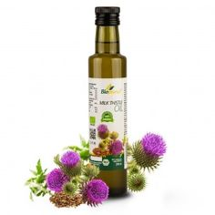 Certified Organic Cold Pressed Milk Thistle Seed Oil 250ml Biopurus