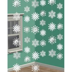 6 7ft Snowflake Strings Christmas Decorations Party Supplies | Home, Furniture & DIY, Celebrations & Occasions, Christmas Decorations & Trees | eBay!