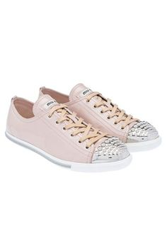 Miu Miu  pink sneakers