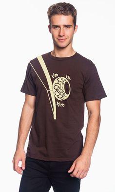 Graphic Capoeira T Shirt  La Vai Viola by HouseRabbitHandcraft, $22.50