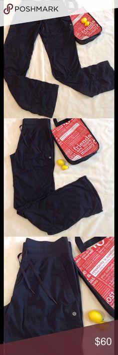"Lululemon🍋🍋 dance studio pants size 8 tall Lululemon dance studio pants grey color excellent condition size 8 tall inseam 35"" lululemon athletica Pants Track Pants & Joggers"