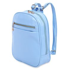7 Colors Beauty Ladder Lock Button Shape Zipper Head Solid Color Portable Bag Backpack for Women Special Simple Design