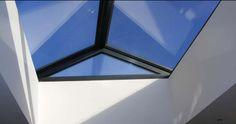 flat roof lantern large windows - Google Search