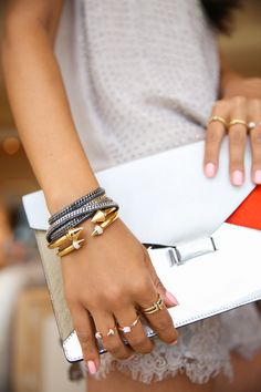 CELINE DIAMOND CLUTCH & VITA FEDE JEWELRY on bloglovin