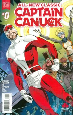 All New Classic Captain Canuck (2016) 0A