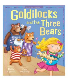 Look what I found on #zulily! Goldilocks and the Three Bears Paperback by tiger tales #zulilyfinds