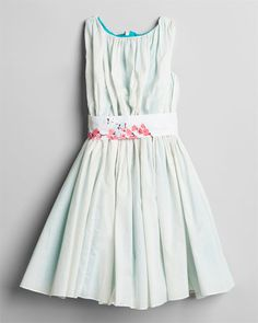 Purchased this adorable Llum Girls' 'Degas' White Cherry Blossom Dress for Niece Abby... will be beautiful on her!  :)