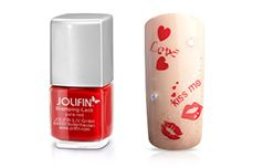 Stamping-Lack pure-red