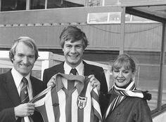 Sunderland's Argentinian signing Claudio Marangoni,  1979.   Photo: Sunderland Echo Sunderland Echo, Sunderland Football, Golden Age