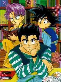 Gohan, Goten and Trunks.