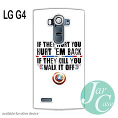 Captain America's Quote Phone case for LG G4 and other cases