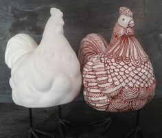 Image result for paint your own pottery chicken