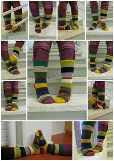 Scrap Yarn Sock Advent Calendar
