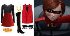 5 looks inspired by our favorite Disney and Disney•Pixar Moms   Mother's Day fashion   Mrs. Incredible   [ https://style.disney.com/fashion/2016/05/07/looks-inspired-by-the-best-disney-moms/ ]
