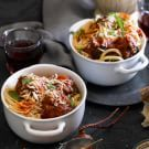Try the Spaghetti with Slow-Cooker Meatballs Recipe on williams-sonoma.com/