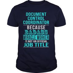 Document Control Coordinator T-Shirts, Hoodies. BUY IT NOW ==►…