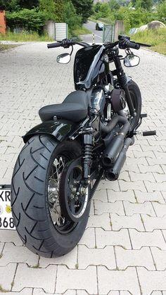 Cool Harley Davidson Nightster Custom www.mad4bikesuk.co.uk #mad4bikesuk #harleydavidsonsportster883