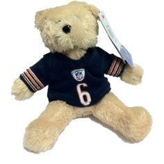 """Jay Cutler - #6 Chicago Bears Cutler 8"""" Jersey Bear  http://store.chicagobears.com/Jay-Cutler-6-Chicago-Bears-Cutler-8-Jersey-Bear.aspx"""