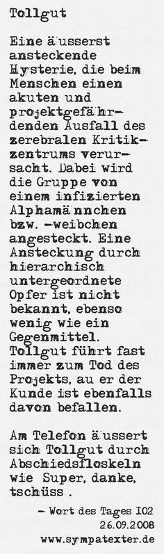 Tollgut - www.sympatexter.de