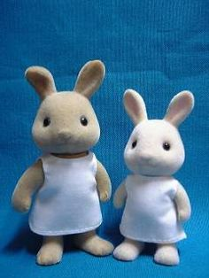Sylvanian Family Clothes patterns (in Japanese but can easily follow instructions).
