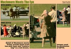 In the 1963 assassination of President John F. Kennedy, Babushka Lady is a nickname for an unknown woman who might have photographed the events that occurred in Dallas' Dealey Plaza at the time President John F. Kennedy was shot. Her nickname arose from the headscarf she wore similar to scarves worn by elderly Russian women.