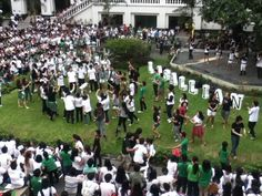 Start of College life for me! Taken during LPEP Day 2. ANIMO LA SALLE! College Life, Day