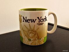New York Starbucks mug.  Added to my collection in 2009. :-)