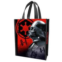 This is a Star Wars Darth Vader Small Shopper Tote that's produced by the good folks over at Vandor.  It's a neat size, roughly 10 inches wide by 12 inches tall