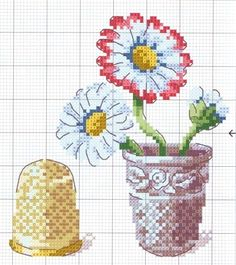 Point de croix ❤️*❤️ cross stitch chart
