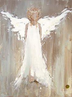 Original Artwork by Anita Felix Creation Art, Angels Among Us, Christmas Art, Painting Inspiration, Painted Rocks, Painted Signs, Wood Art, Painting & Drawing, Art Projects