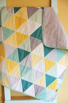 teal and gray quilt - Google Search