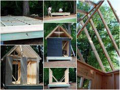 creating a mini-back house