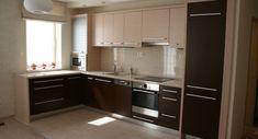 konyha bútor - Google keresés Smart Kitchen, Kitchen Modular, Pine Kitchen, Kitchen Dinning Room, Indian Interior Design, Interior Design Kitchen, Wooden Cabinets, Kitchen Cabinets, Indian Interiors
